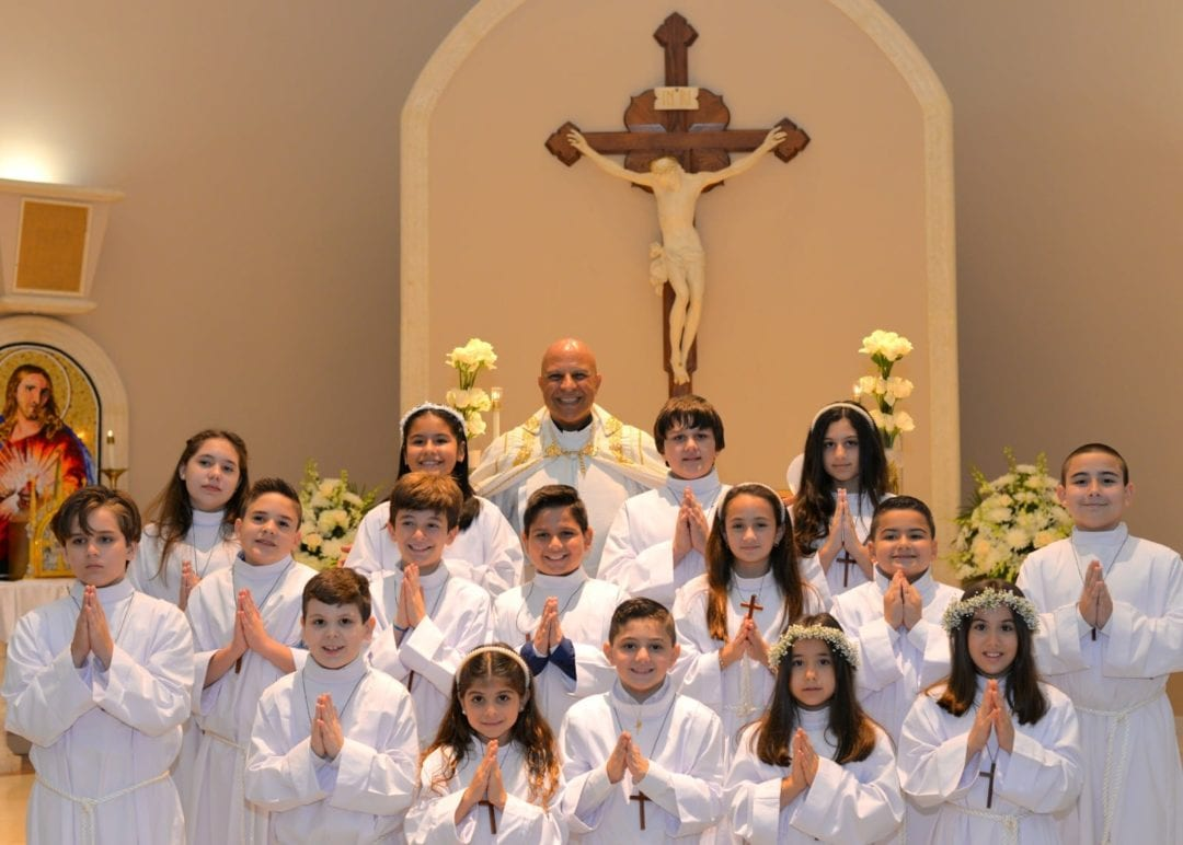 Saturday June 20, 2020 O Sacrament Most Holy O Sacrament Most Divine First Holy Communion at our parish