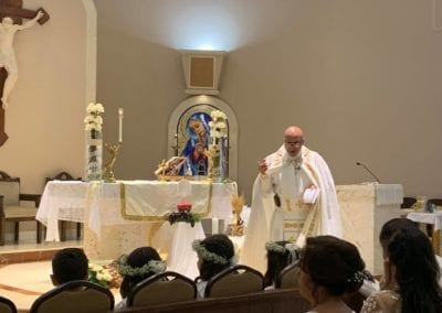 Saturday July 11, 2020 – O Sacrament Most Holy O Sacrament Most Divine First Holy Communion of our second group