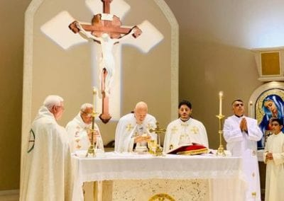 Divine Liturgy by his Excellency Bishop Gregory J. Mansour